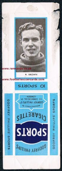 1950 Glasgow Rangers Brown 10s pack